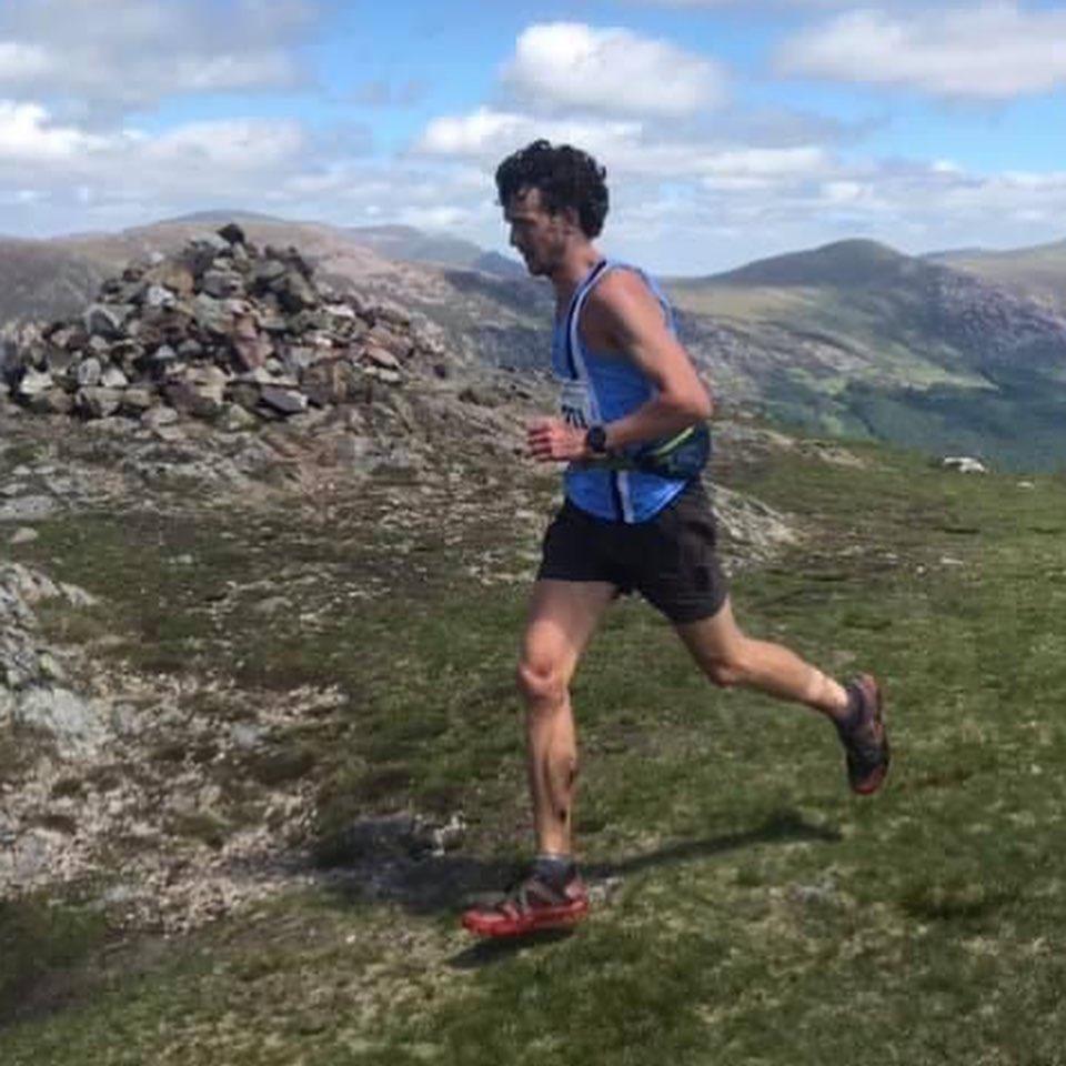 Billy Cartwright 1st English Fell Championships Ennerdale