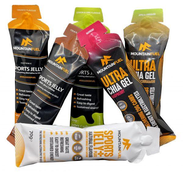 Ultra Chia Gel & Hydrogel Sports Jelly