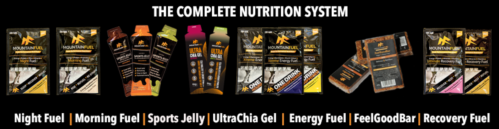 Mountain Fuel Sports Nutrition System