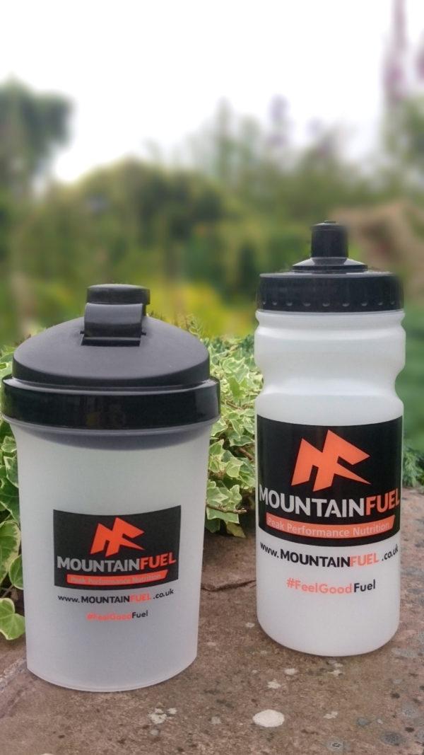 Mountain Fuel 500ml Sports Bottle & Shaker