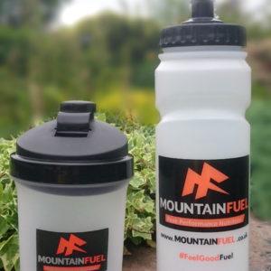 Mountain Fuel 750ml Sports Bottle & Shaker
