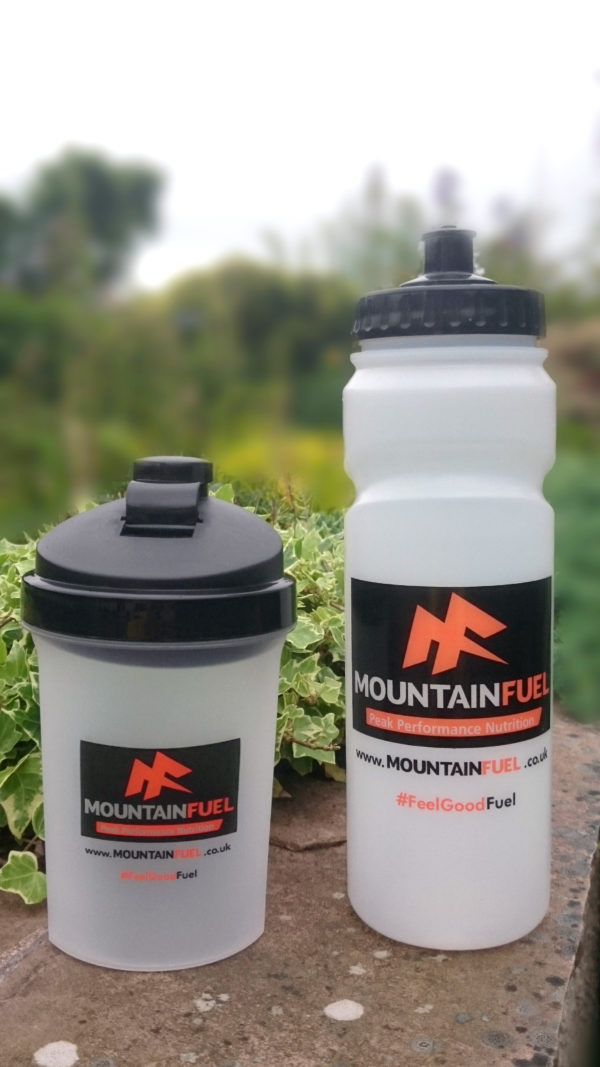 Mountain Fuel 750ml Sports Bottle & Shaker